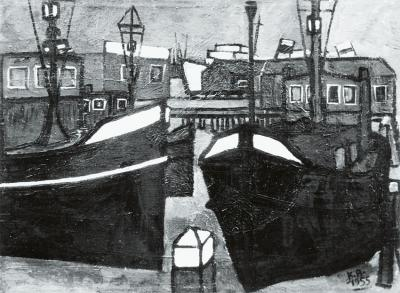 The boats (Amsterdam harbour)